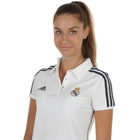 All information about real madrid (laliga) current squad with market values transfers rumours player stats fixtures news. Koszulka damska bluzka Adidas REAL MADRYT ES POLO W 367202 ...