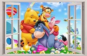 Winnie Pooh Wandtattoo Xxl : wandaufkleber fenster 3d winnie pooh winnie puuh wand aufkleber wandtattoo 61 ebay ~ Bigdaddyawards.com Haus und Dekorationen