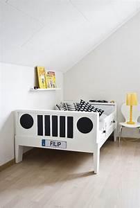 Lit Voiture Ikea : un lit ikea version voiture shake my blog ~ Teatrodelosmanantiales.com Idées de Décoration