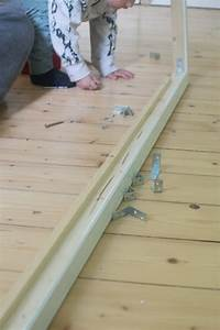 Hausbett Kinder Selber Bauen : kinderbett hausbett kinder floor bed floorbed kids anleitung bauanleitung trendshock ~ Markanthonyermac.com Haus und Dekorationen