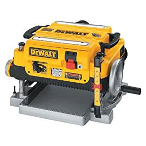 dewalt dw735 13 inch two speed thickness planer power planers