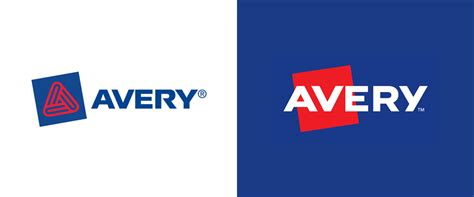 Brand New: New Logo for Avery by Chermayeff & Geismar & Haviv