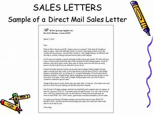 sales and public relations letters ppt video online download With direct marketing letter