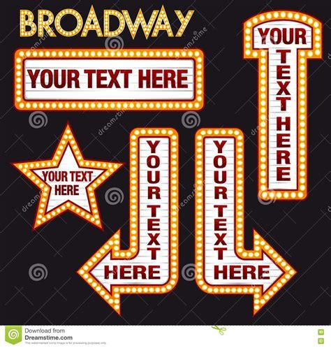 Broadway Billboard Clip Art dadartdesign vector marquee bulb realistic billboard set 1300 x 1368 · jpeg