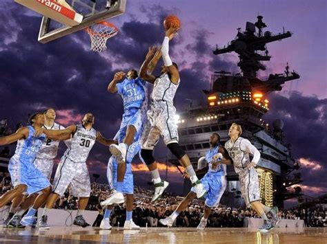 hiestand tv gung ho  college basketball aboard ship