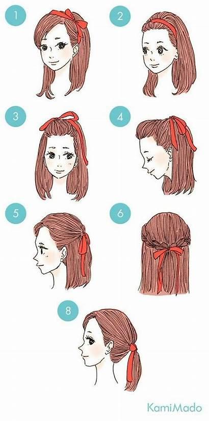 Hairstyles Hair Easy Kawaii Everyday Step Hairstyle