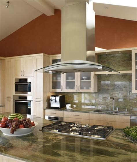 kitchen hoods stainless steel kitchen designs and ideas