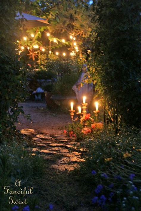 summer magic in the garden a fanciful twist