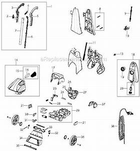 Bissell 2070 Parts List And Diagram   Ereplacementparts Com
