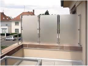 seitlicher sichtschutz balkon balkon sichtschutz kreative ideen für ihr zuhause design