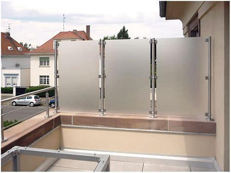 Befestigung Plexiglas Balkon by Balkon Sichtschutz Plexiglas Hauptdesign