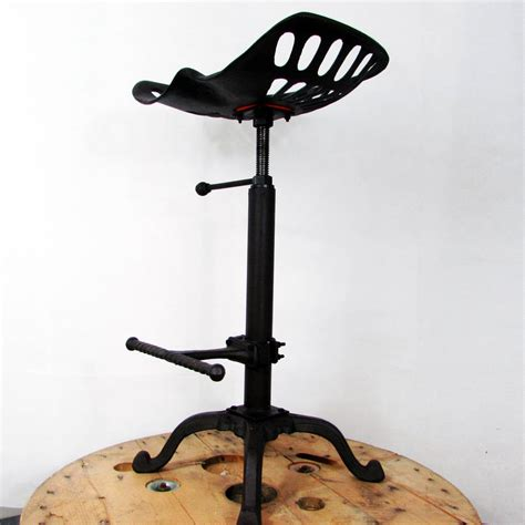 traditional tractor seat metal bar stool uniques