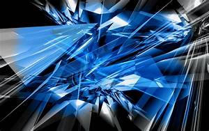 Abstract shattered glass picture nr