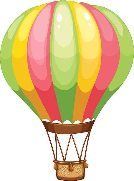 hot air balloon cartoon hot air