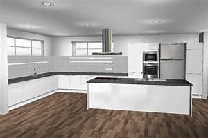 Küchen L Form Mit Theke : k chen modern l form mit insel ~ Bigdaddyawards.com Haus und Dekorationen