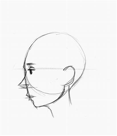 Profile Drawing Face Draw Sketch Simple Lesson