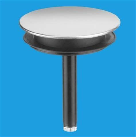 pop up sink plug mcalpine chrome bath sink 50mm pop up plug 39004111