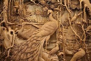 El moribundo arte tradicional chino de la talla de madera