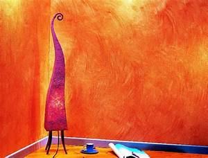 Peinture A La Chaux Interieur : beau mur a la chaux interieur 6 10 id233es d233co pour ~ Dailycaller-alerts.com Idées de Décoration