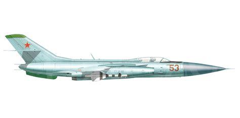 Yakovlev Yak-28p Side View // By Basil Zolotov