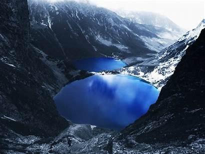 Mountain Snow Lake Wallpapers Mountains Desktop Background