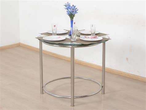 used round glass table top gerica round glass top dining table buy and sell used