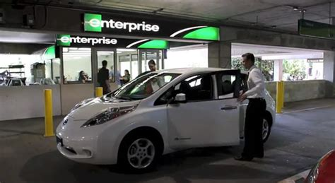Customers Not So Sure About Electric Car Rentals