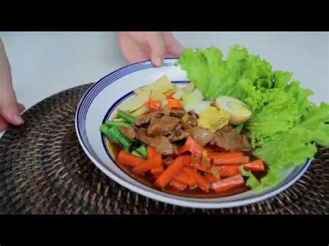 Selain selat segar masih ada selat daging dan selat galantin buat dicoba. Resep Makanan Selat Solo.TS - YouTube