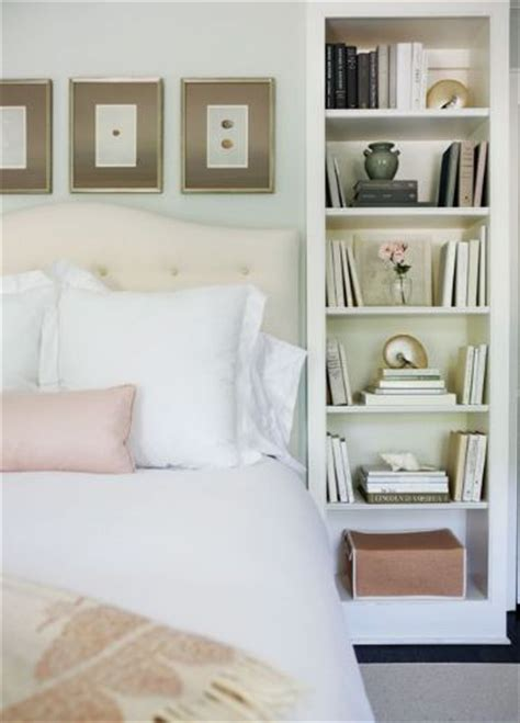 Bedside Bookcase by Bookshelves Flanking Bed Idea For The Master Bedroom