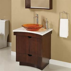 Decolav madryn 24quot wide 22quot deep 29quot t bathroom for How deep is a bathroom vanity
