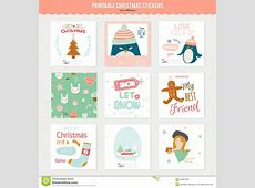 """Search Results for """"Christmas Gift Tag Stickers Template"""
