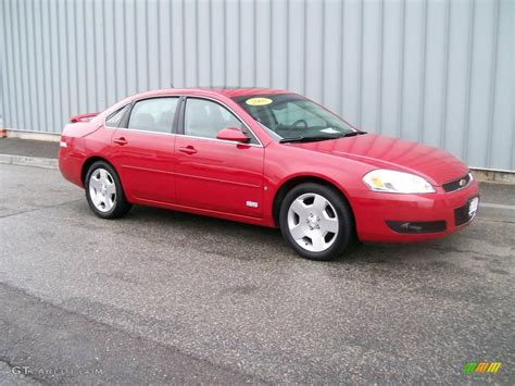 2008 Precision Red Chevrolet Impala Ss #1085766