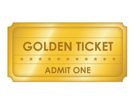 golden ticket template editable 36 editable blank ticket template exles for event thogati