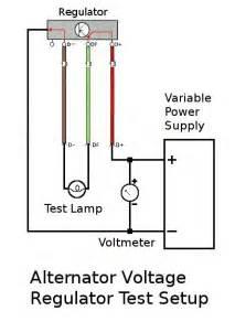 thesamba com gallery alternator voltage regulator test setup