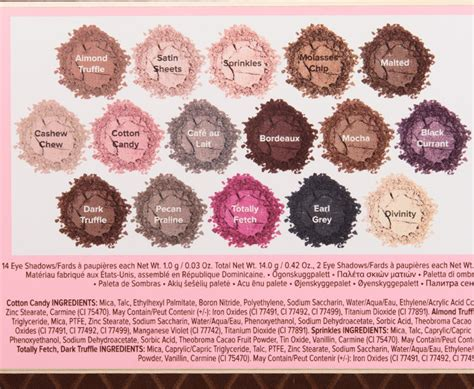 faced chocolate bon bons eyeshadow palette review