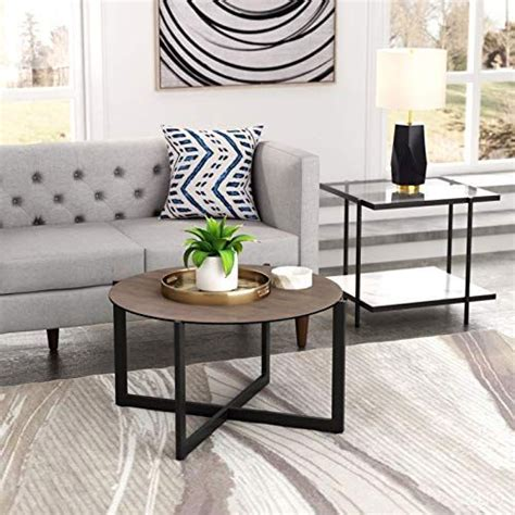Check out our favorite modern round coffee tables from top shops like west elm, allmodern, overstock, and more! Industrial Country Farm Beach Round Coffee Table | Round coffee table, Table, Home decor