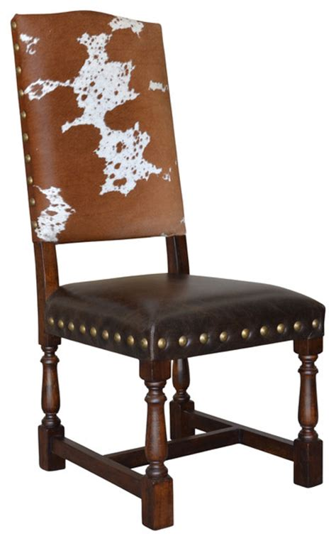 cowhide dining chair 325 southwestern dining chairs