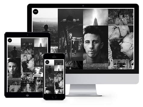 photo photography bootstrap template