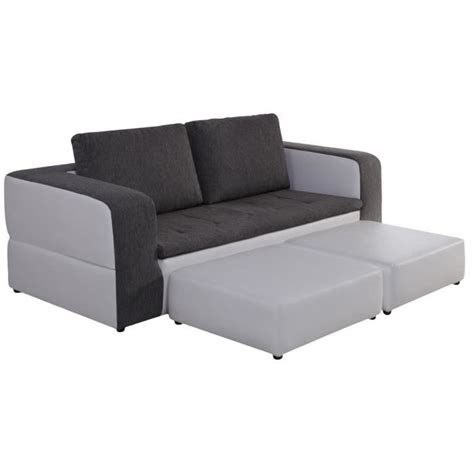 but canap convertible 3 places canapé 3 places convertible et 2 poufs switsofa achat