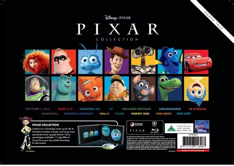buy disney pixar collection incl shipping