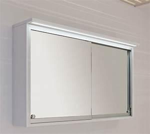 Armoire de toilette avec portes coulissantes ALKE badkamermeubelen