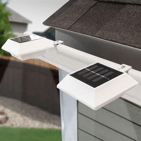 solar gutter lights lowes solar gutter lights home design inspirations