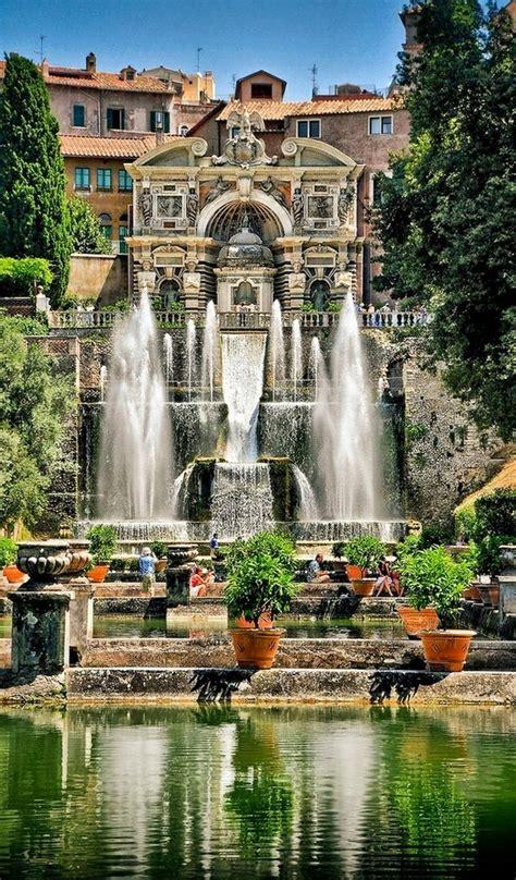 tivoli gardens italy villa d este tivoli italy