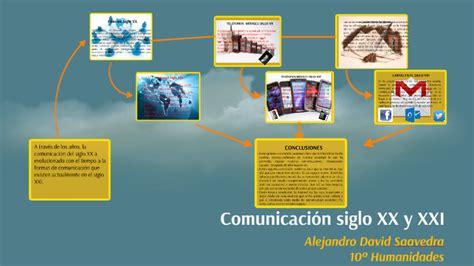 comunicaci 243 n siglo xx y xxi by alejandro david saavedra prezi