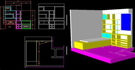 child room  dwg model  autocad designs cad