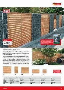 Sichtschutz Holz Bauhaus : page 57 bauhaus holz im garten 2017 ~ Sanjose-hotels-ca.com Haus und Dekorationen
