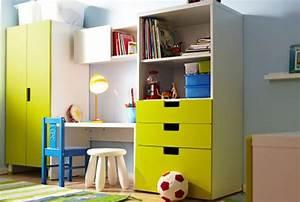 Kinderzimmer Deko Ikea : ikea aufbewahrungssysteme f r kinderzimmer wie z b stuva aufbewahrung mit t ren wei gr n ~ Buech-reservation.com Haus und Dekorationen