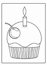 Cupcakes Coloring Pages Cupcake Icolor Cup Holidays Domed Sprinkles Colouring Happy Colorful Freecoloringpagesite sketch template