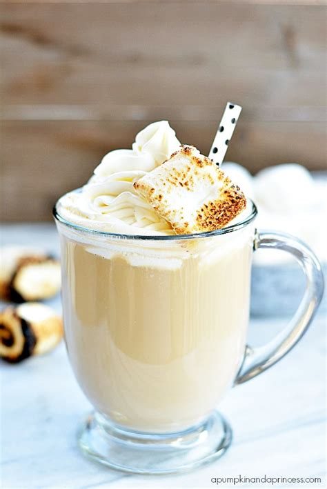 Soak 4 envelopes of gelatin in 1 cup of cold water. Caramel Marshmallow Latte - A Pumpkin And A Princess