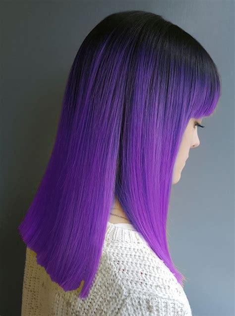 1001 visions en cheveux prune pour 234 tre au top des tendances 2018 cheveux violets couleur